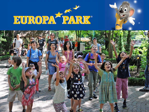 Tutti all'Europa Park!